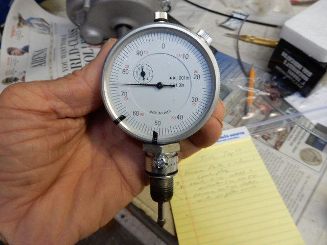 Harbor Freight Dial Indicator : Setting the ignition timing on paramotors